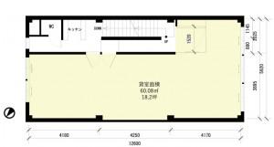 内田ビル3F_plan
